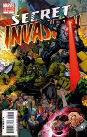 Secret Invasion #3 2nd Second Print Yu Variant (2008) Marvel comic book